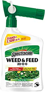 Spectracide Weed & Feed 20-0-0, Ready-to-Spray, 32-Ounce