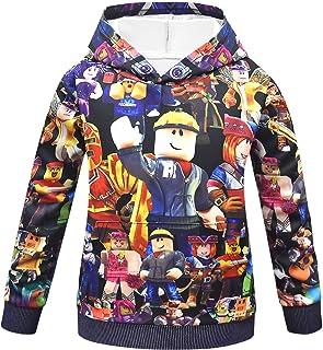 Boys Girls Hero Game Cartoon Novelty Hoodie Sweatshirt 4-14 Years