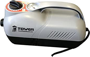 Tower Premium iSUP 12V Pump - 20 PSI - Compact Digital Air Pump Compressor with Preset PSI Auto Shut Off for Inflating SUP Paddle Boards, Boats, Rafts, Pool Toys, Water Sports 12V DC Car Connection