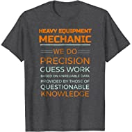 Heavy Equipment Mechanic Diesel Logging T-shirt
