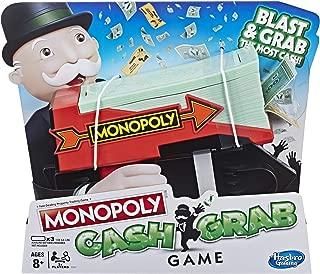 MONOPOLY E3037102 Cash Grab Game, Multi-Colour