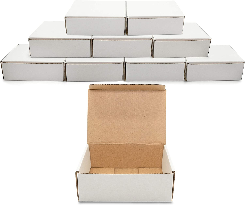 SAI Premium White Corrugated New mail order Box Inches 10-Pack Super-cheap Mailer 9x7x3