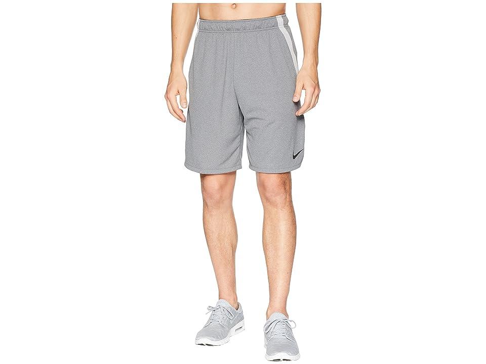 Nike Dri-FIT 9 Training Short (Gunsmoke/Heather/Black) Men