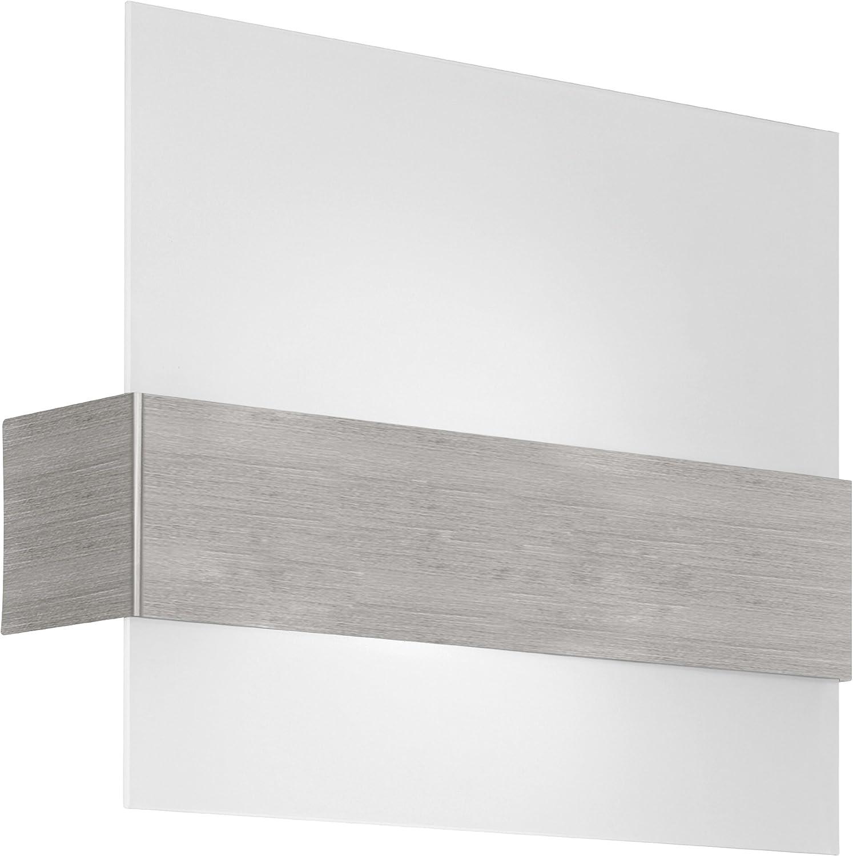 Eglo 86997A Nikita Wall or Light Nickel Ceiling Memphis Max 62% OFF Mall Matte