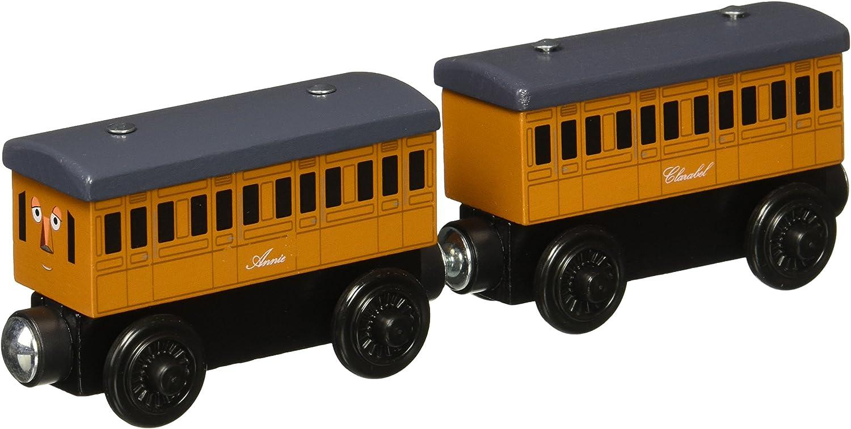 Mattel Fisher-Price Y4422 - Thomas und seine Freunde Holz-Reisezugwagen Annie und Clarabel