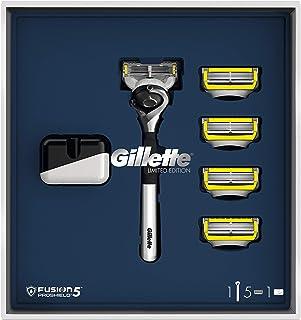 Gillette Fusion5 ProShield Set de regalo Maquinilla cromada