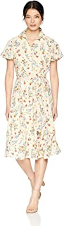 Tahari by Arthur S. Levine Women's Georgette Shirt Dress