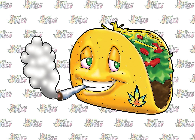 Pot Smoking Pals - Smokin' Topping S Taco Oklahoma Max 78% OFF City Mall Lettuce Devil's