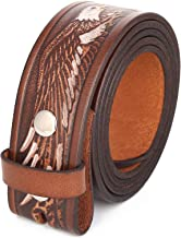 Gelante Genuine Full Grain Leather Belt Strap without Belt Buckle