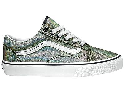 Vans Old Skooltm ((Prism Suede) Black/True White) Skate Shoes