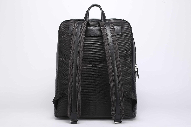Microfiber Vegan Leather Doshi Lux Ribbed Backpack