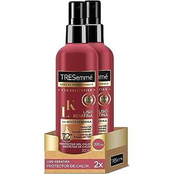 Tresemme - Spray Protector De Calor Keratina - [pack de 2]: Amazon ...