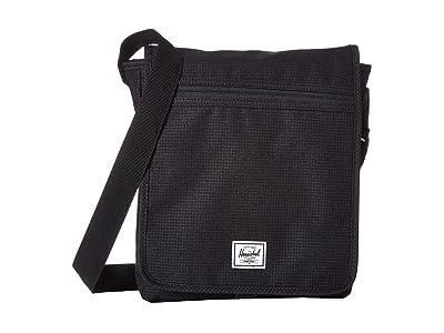 Herschel Supply Co. Lane (Dark Grid/Black) Messenger Bags