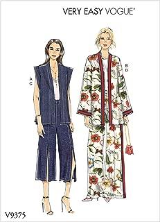 Vogue Patterns-V9375-MISSES-SPORTSWEAR,纸张,白色,多色