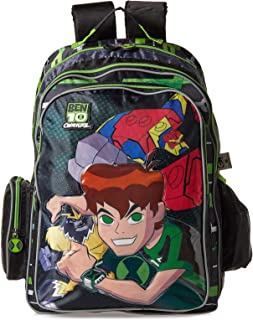 Carton Network Ben 10 School Backpack for Boys - Multi Bolor