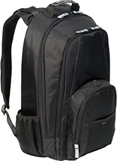 Targus Groove BTS 17 Notebook Backpack CVR618 (Black with Grey Accents)