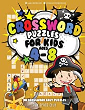 Crossword Puzzles for Kids Ages 4-8: 90 Crossword Easy Puzzle Books (Crossword and Word Search Puzzle Books for Kids) (Volume 8)