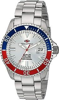 Seapro Men's Scuba 200 Automatic Stainless Steel Strap, Silver, 21.5 Casual Watch (Model: SP4320)