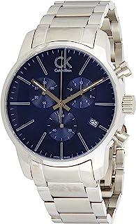 Calvin Klein Men's Quartz Watch, Chronograph Display and Stainless Steel Strap K2G2714N