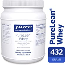 Pure Encapsulations - PureLean Whey - Whey Protein for Healthy Weight Management** - Natural Vanilla Bean Flavor - 432 Grams