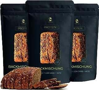 Nutringo - mezcla para hornear pan de proteínas 3x200g. |