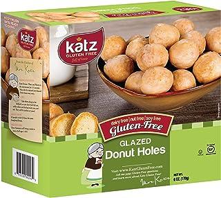Katz Gluten Free Glazed Donut Holes   Dairy Free, Nut Free, Soy Free, Gluten Free   Kosher (1 Pack, 6 Ounce)