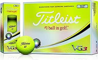 Titleist(タイトリスト)日本正規品 VG3(ブイジースリー) ゴルフボール 2018モデル 1ダース(12個入)