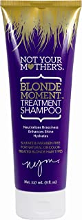 Not Your Mothers Shampoo Blonde Moment 8 Ounce Treatment Tube (237ml) (2 Pack)