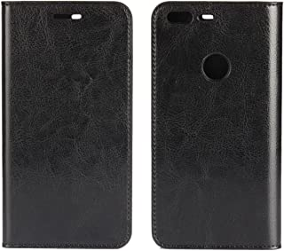 Google Pixel XL Wallet Case, Jaorty Genuine Leather Folio Flip Case Cover Book Design with Kickstand Feature with Card Slots/Cash Compartment for Google Pixel XL (5.5