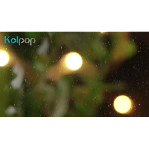 Kolpop Stringa Luci LED a Batteria [4 Pezzi], Catena Luminosa 5m 50 LED con Filo Rame Ghirlanda Luminosa Lucine LED Decorative per Camere da Letto Giardino Casa Feste Natale Matrimonio (Bianco Caldo) 7 spesavip