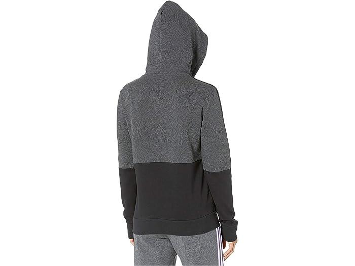 Adidas Essentials Color Block Hooded Sweatshirt