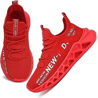 Nihaoya Boys Girls Shose Kids Toddler Sneakers Athletic Shoes for Running Walking Tennis