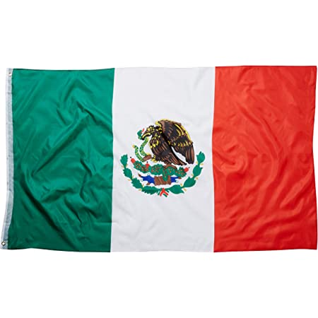 "/""MEXICO/"" flag 3x5 ft poly"