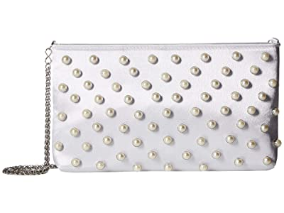 Adrianna Papell Noa (White) Clutch Handbags