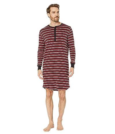 2(X)IST Cotton Sleep Shirt (Stripe Scooter Red) Men