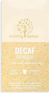 Moving Beans Decaf Nespresso Capsules Coffee