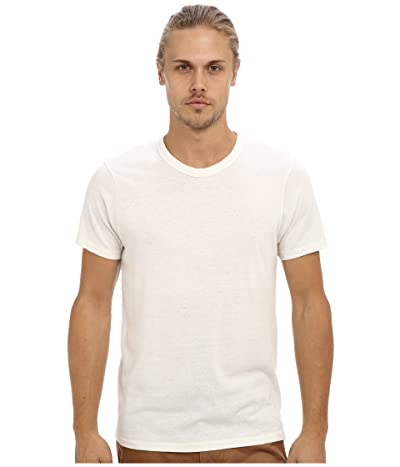 Alternative S/S Crew Tee (Eco Ivory) Men