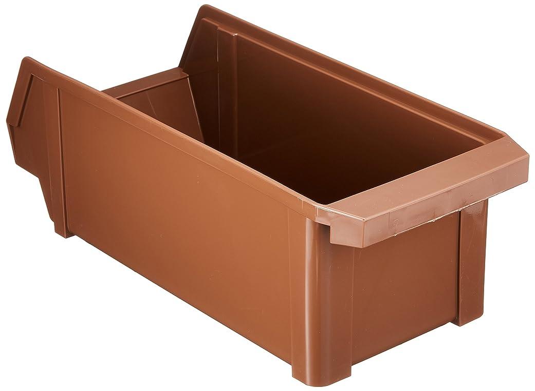 存在するモートストロー遠藤商事 業務用 オーガナイザーボックス ブラウン 洗浄機対応 ポリプロピレン樹脂 日本製 EOC106A
