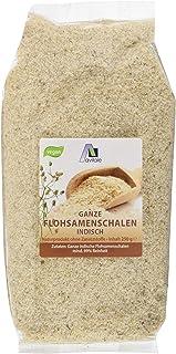 Avitale Ganze Flohsamenschalen aus Indien, 99% Reinheit, reich an Ballaststoffen - Geprüfte Lebensmittel-Qualität aus Indien - Verpackt in Deutschland, 1er Pack 1 x 250 g