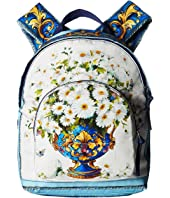 Dolce & Gabbana Kids - Floral Vase Backpack (Toddler/Little Kids/Big Kids)