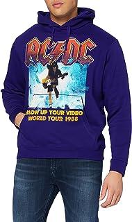 Men's Blow Up Your Video Hooded Sweatshirt X-Large Blue