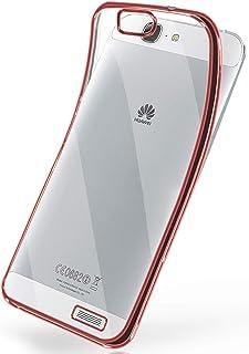 269702c3784 MoEx La Caja del Cromo para Huawei Ascend G7 | Funda de Silicona  Transparente con Efecto