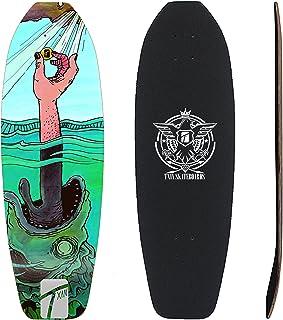 TXIN - Surfskate Deck Treasure 31,5 Surf Skate Skateboard...