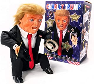 Charley Trump - Cymbal Banging, Talking, Multi-Action Collectible