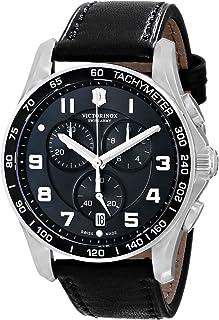 Victorinox Men's 241651 Chrono Classics XLS 45mm Watch سیاه