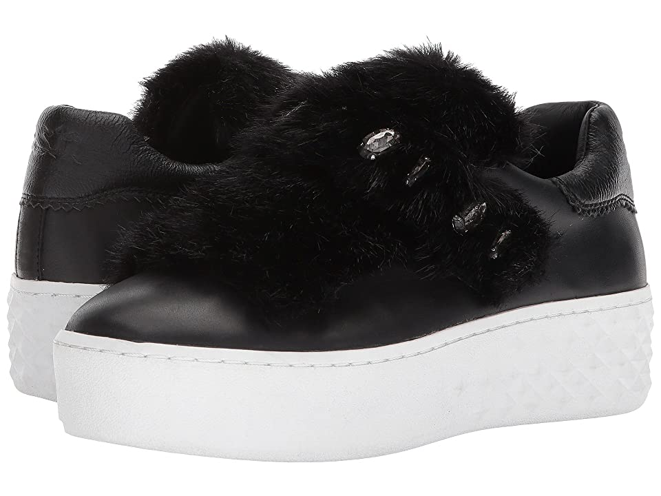 ASH Djin (Black/Black Nappa Calf/Mink Black) Women