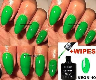 Blue Sky Neon 10 Citron vert Apple d\u0027été Couleur Vernis à ongles gel UV