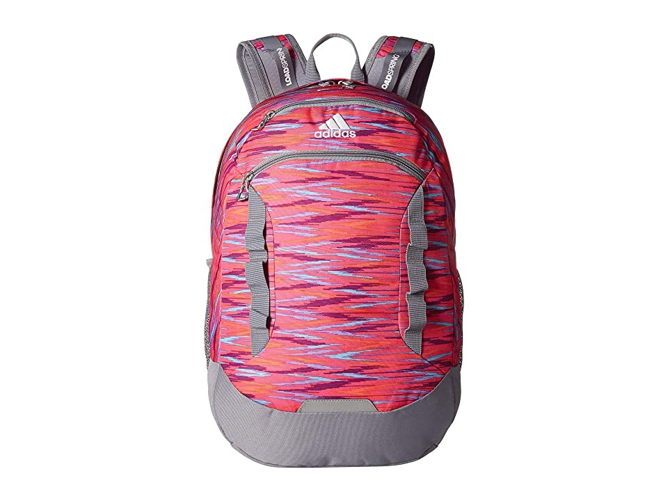 adidas Excel III Backpack (Shock Pink Twister/Grey/White) Backpack Bags