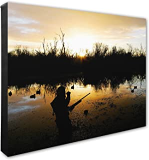 Duck Hunter - Canvas Photo by Photo File, Inc.
