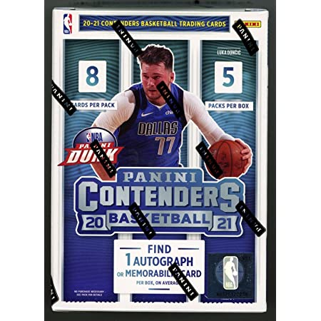 2020/2021 Panini Contenders Nba Basketball Sealed 40 Card Blaster Box - Look For Lamelo Ball Wiseman Rookie and Autograph Cards